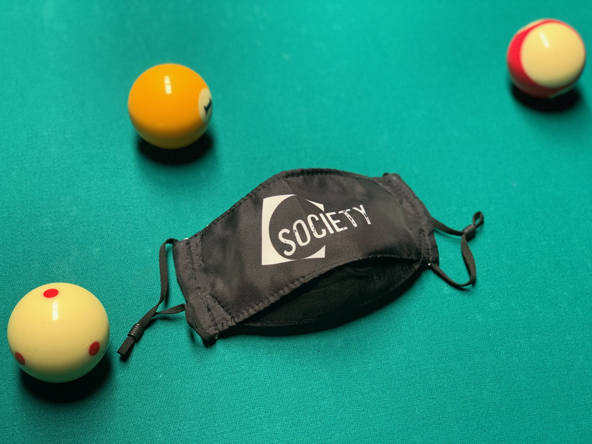 nyc society billiards mask